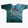 900 Global Bowling Grey Swirl Dye-Sublimated Shirt