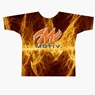 Motiv Bowling Orange Fire Dye-Sublimated Shirt