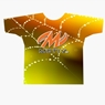 Motiv Bowling Orange Spider Web Dye-Sublimated Shirt