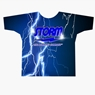 Storm Bowling Lightning Vector Dye-Sublimated Shirt