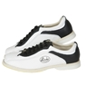 Linds CPS Mens Bowling Shoes Black/White- Right Hand Wide Width