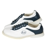 Linds CPS Mens Bowling Shoes Blue/White- Right Hand Wide Width