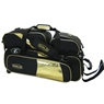 Elite Gold Triple Tote Plus Bowling Bag- Limited Edition- Black/Gold