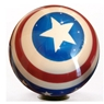 Clear Stars and Stripes Bowling Ball