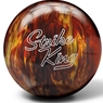 Brunswick Strike King Bowling Ball- Red/Gold Pearl