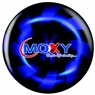 Moxy Bowling Ball by Bowlerstore- Blue Swirl