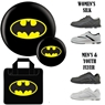 Batman Icon Version 1 Bowling Ball, Batman Bag and Shoe Package