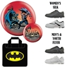 Batman Bane Bowling Ball, Bag and Shoe Package