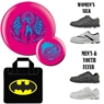 Batgirl Bowling Ball, Bag and Shoe Package