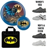 Batman Bowling Ball, Batman Bag and Shoe Package