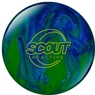 Columbia Scout Reactive Blue/Green  Bowling Ball