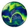 Ebonite Cyclone Bowling Ball- Royal Blue/Yellow