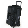 Elite Dimension Deluxe Triple Roller Bowling Bag- Limited Edition-  Black