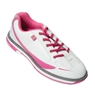Brunswick Ladies Curve Bowling Shoes- White/Hot Pink