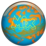 Storm Mix Urethane Bowling Ball- Blue/Orange Solid
