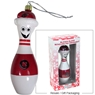 Blown Glass Bowling Pin Ornament