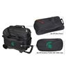 Michigan State University Double Ball Roller Bowling Bag