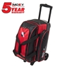 Moxy Double Roller Bowling Bag- Red/Black