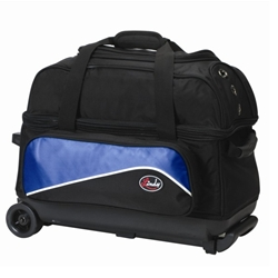 Linds Bowling Balls & Bags Linds Basic 2 Ball Roller Bowling Bag- Black/Blue at Sears.com