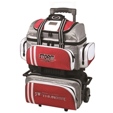 Storm Bowling Products 4 Ball Rolling Thunder Bowling Bag by Storm- Gray/Black/Silver at Sears.com