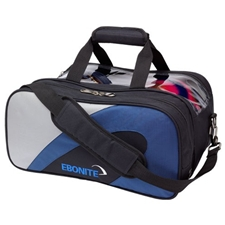 Ebonite Bowling Products Team Ebonite Double Tote Bowling Bag- Navy/Silver at Sears.com