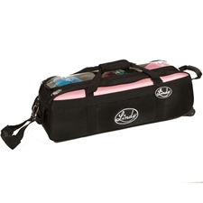 Linds Bowling Shoes & Bags Linds Triple Tote Roller Bowling Bag- Black/Pink at Sears.com