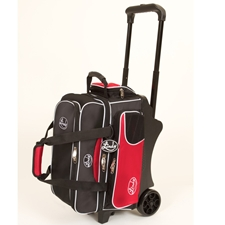 Linds Bowling Balls & Bags Linds Deluxe 2 Ball Roller Bowling Bag- Black/Red at Sears.com