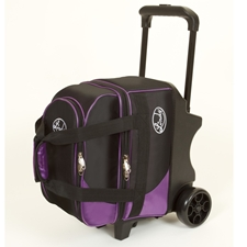 Linds Bowling Balls & Bags Linds Deluxe Single Ball Roller Bowling Bag- Black/Purple at Sears.com