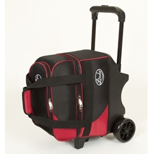 Linds Bowling Balls & Bags Linds Deluxe Single Ball Roller Bowling Bag- Black/Red at Sears.com