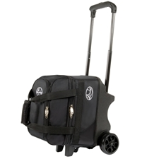 Linds Bowling Balls & Bags Linds Deluxe Single Ball Roller Bowling Bag- Black at Sears.com