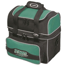 Bowlerstore Products Flip Tote Bowling Bag by Storm- Black/Teal at Sears.com