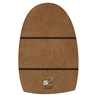 Dexter The 9 S2 Brown Microfiber Shortest Slide Sole