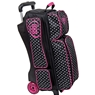 DV8 Diva Deluxe 3 Ball Roller Bowling Bag- Dots
