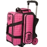 DV8 Diva 2 Ball Roller Bowling Bag- Black/Pink