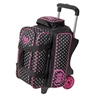 DV8 Diva 2 Ball Roller Bowling Bag- Dots