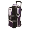 3 Ball Rolling Thunder Bowling Bag by Storm- Purple/Black/White