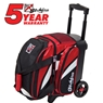 KR Cruiser Single Roller Bowling Bag- Red/Black/White