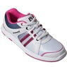 Brunswick Ladies Sienna Bowling Shoes- White/Black/Hot Pink