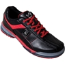 Brunswick Mens TPU-X Performance Bowling Shoes RH Wide- Black/Red