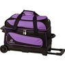 Ebonite Transport II Roller Bowling Bag- Purple/Black