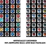 NFL Bowling Ball and Single Bag Packagr