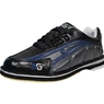 3G Mens Tour Ultra Black/Blue/Metallic Bowling Shoes- Right Hand