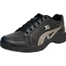 3G Mens Sneaks Bowling Shoes- Black/Grey