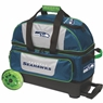 Seattle Seahawks NFL Double Roller Bowling Bag with Lime Wheels