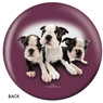The Dog and Friends Bowling Ball- Boston Terrier