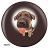 The Dog and Friends Bowling Ball- German Shephard