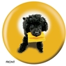 The Dog and Friends Bowling Ball- Poodle