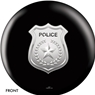 Police Department Shield Bowling Ball