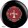 Fire Department Shield Bowling Ball