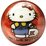 Brunswick Hello Kitty Glow PRE-DRILLED Viz-A-Ball Bowling Ball